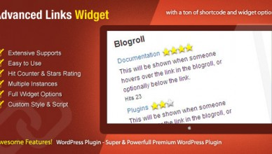 Widget Links